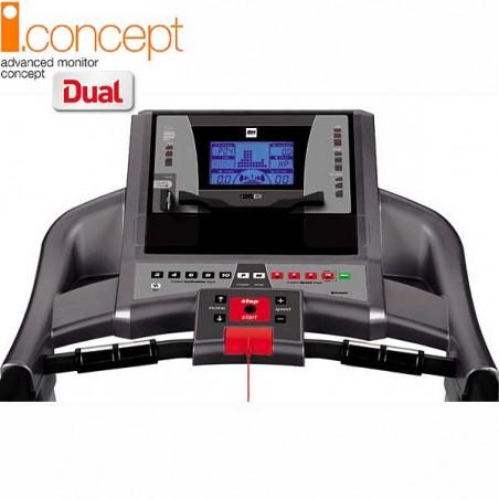 Monitor de la cinta de correr uso regular Bh F2W i.Concept Dual Kit opcional G6473U