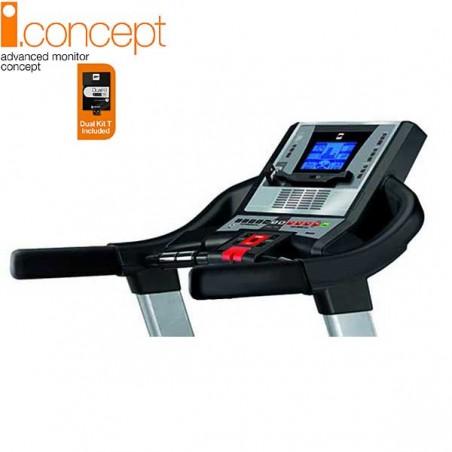Monitor de la cinta de correr uso regular Bh i.F1 Run i.Concept con Dual Kit WG6414N