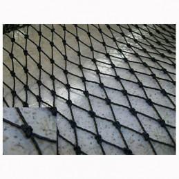 Red protección deportiva polietileno Malla 25x25 mm hilo 1,5 mm