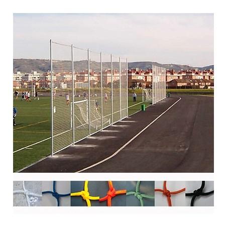 Red protección deportiva Nylon malla 120x120 mm hilo 3 mm precio m2