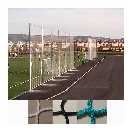 Red protección deportiva sin nudos Malla 100x100 mm hilo 4 mm