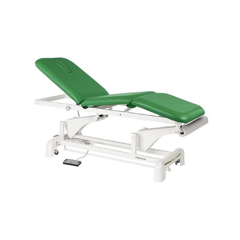 Camilla eléctrica 3 cuerpos para masajes y terapias Ecopostural C3525T13