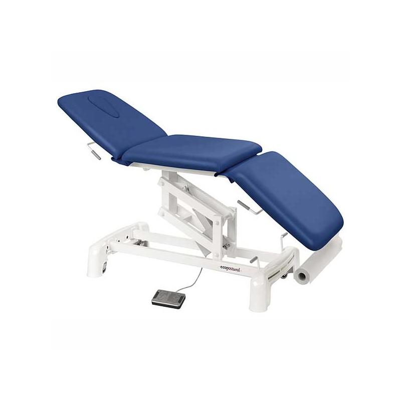 Camilla eléctrica 3 cuerpos para masaje y terapias Ecopostural C3515T13