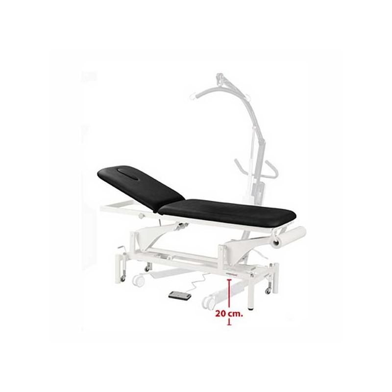 Camilla eléctrica 2 cuerpos para masajes, terapias y tratamientos Ecopostural C3541T13