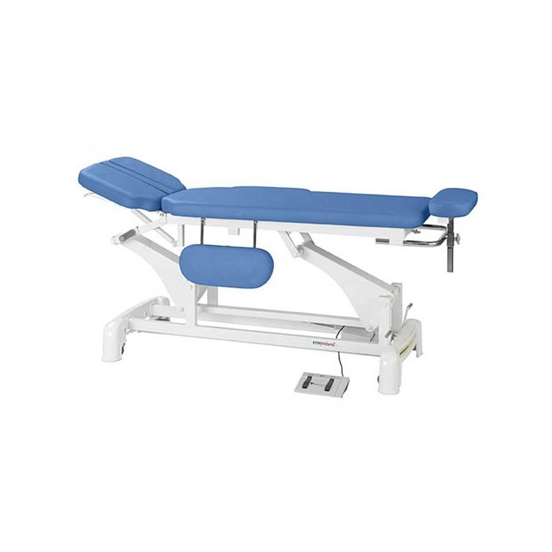 Camilla eléctrica 2 cuerpos para osteopatía, tratamientos, masajes y terapias Ecopostural C3545T05