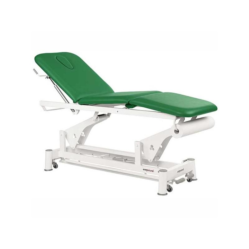 Camilla eléctrica 3 cuerpos Ecopostural C5526T13 para tratamientos, masajes y terapias