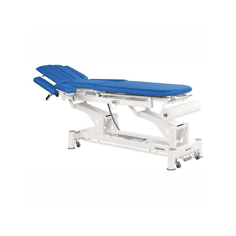 Camilla eléctrica 3 cuerpos Ecopostural C5532T03 para tratamientos, masajes y terapias