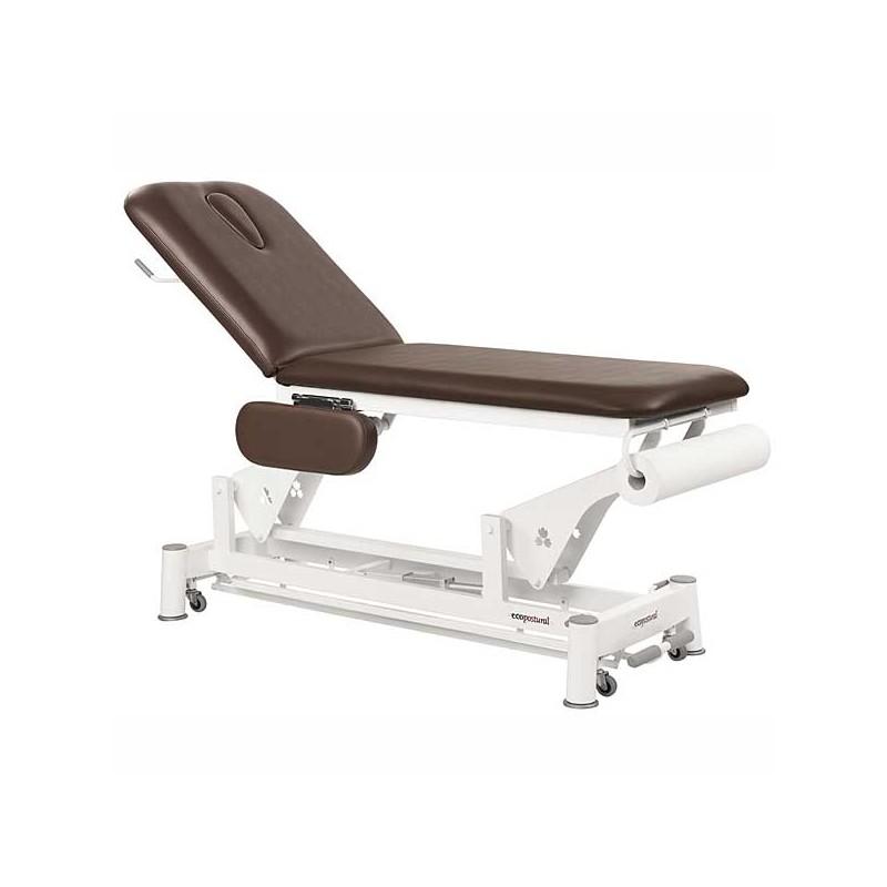 Camilla eléctrica 2 cuerpos Ecopostural C5534T13 para tratamientos, masajes y terapias