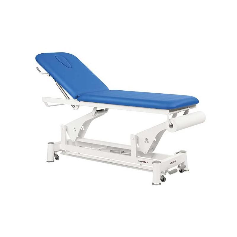 Camilla eléctrica 2 cuerpos Ecopostural C5552T13 para tratamientos, masajes y terapias