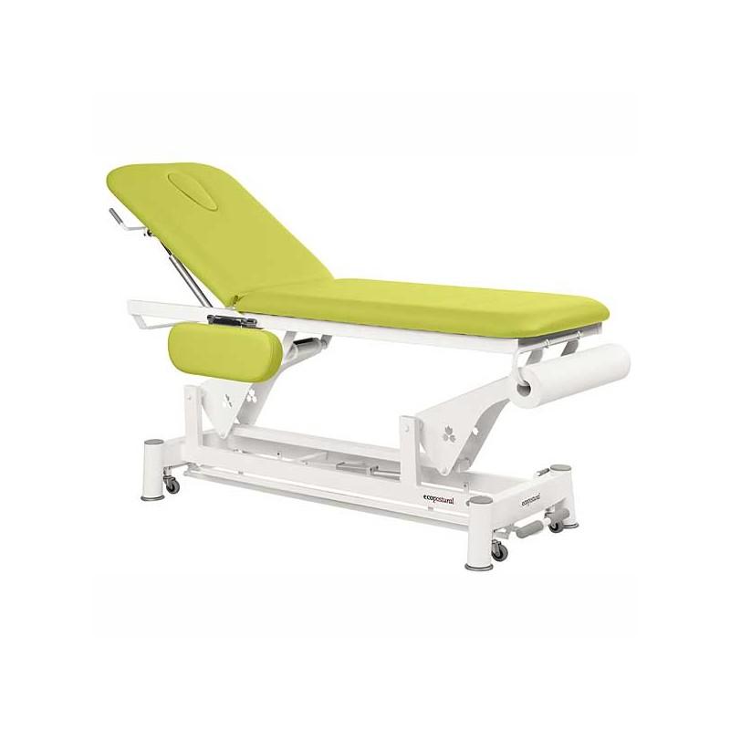 Camilla eléctrica 2 cuerpos Ecopostural C5551T13 para tratamientos, masajes y terapias