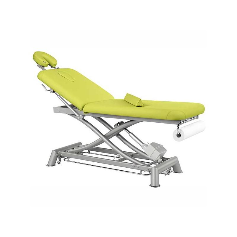 Camilla eléctrica 2 cuerpos Ecopostural C7902T13 para tratamientos, masajes y terapias