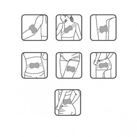 Cinturón de vibración Tecnovita by Bh Slimming Belt YV07