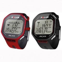Pulsómetro velocímetro para ciclismo Polar RCX5 Bike rojo o negro