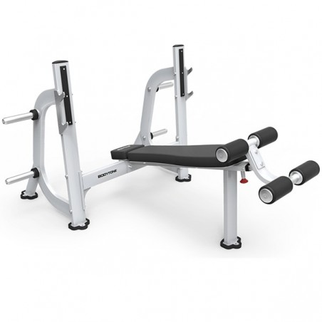Máquina musculación profesional banco press declinado olímpico EB06