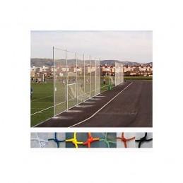 Red protección deportiva Nylon malla 25x25 mm hilo 2.4 mm precio m2