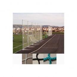 Red protección deportiva sin nudos Malla 120x120 mm hilo 3 mm