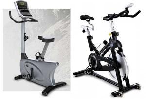 Las bicicletas estáticas y de spinning son las máquinas más clásicas para realizar ejercicio cardiovascular
