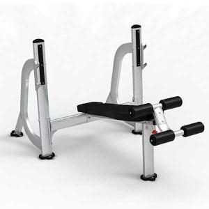 Con las máquinas de peso libre puedes utilizar pesas y barras a tu libre elección