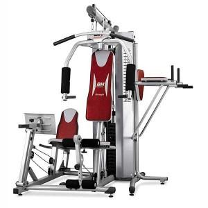 Multiestación para realizar ejercicios de musculación en el hogar