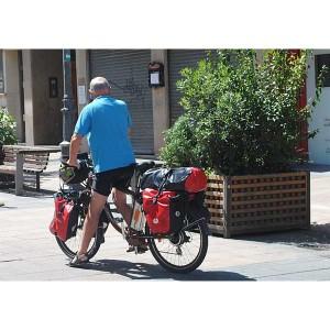 Las alforjas de bicicleta pueden servir para pasear por la ciudad