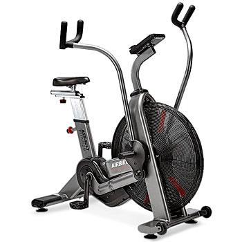 Bicicleta estática para rutinas de entrenamiento HIIT