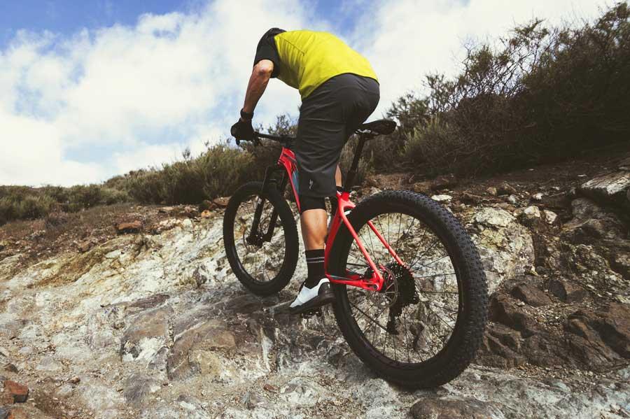 La necesidad de mayor tracción y estabilidad a dado lugar a la aparición de bicicletas de montaña equipadas con neumáticos 27+