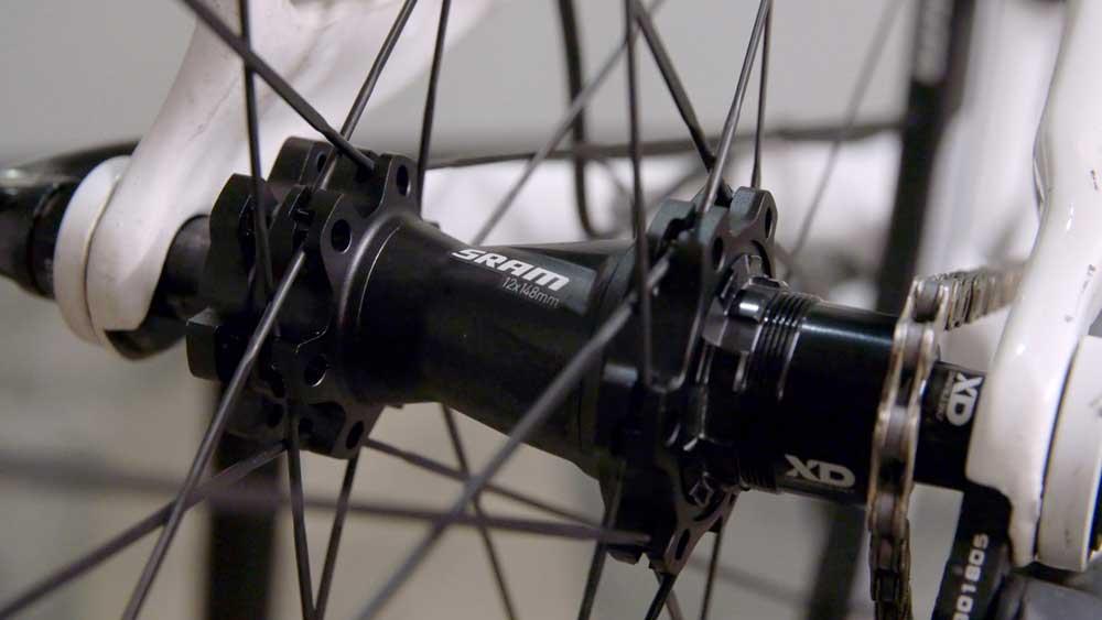Los nuevos bujes Boost permiten un montaje de la rueda más rígido