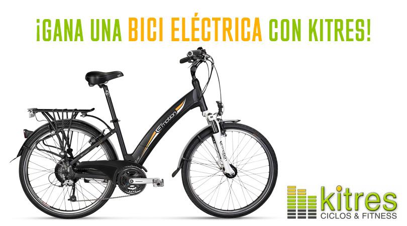 Regalo de una bicicleta eléctrica BH E Motion Neo Street EN314 por responder a una pregunta en nuestro Facebook
