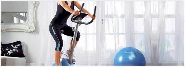 la utilización de una bicicleta estática doméstica es dundamental para mejorar tu salud y forma física.
