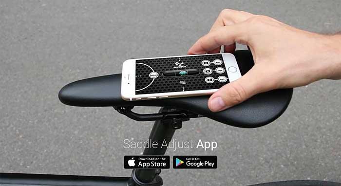 Una App para ayudar a todos los ciclistas a explorar las posibilidades de su sillín y encontrar la posición ideal.