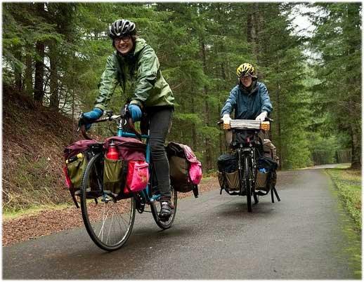 La selección de las alforjas para la bicicleta adecuadas a tus necesidades es muy  importante si quieres disfrutar del cicloturismo de aventura o largos viajes.