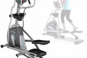 Bicicleta elíptica para perder peso