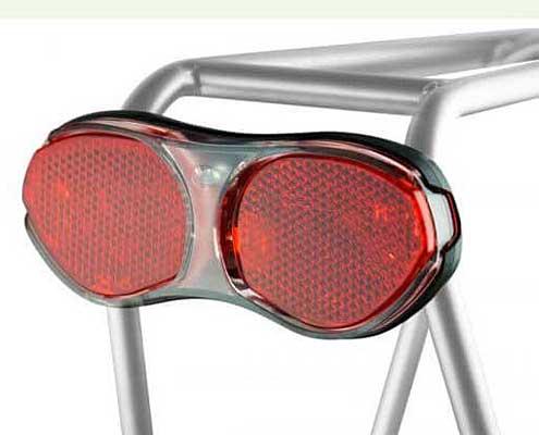 Luz trasera con localizador antirrobo GPS para bicicletas