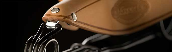 Sillines de cuero para bicicleta LEPPER