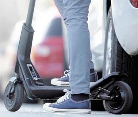 Los patinetes eléctricos Citybug2 tienen un perfil compacto y elegante