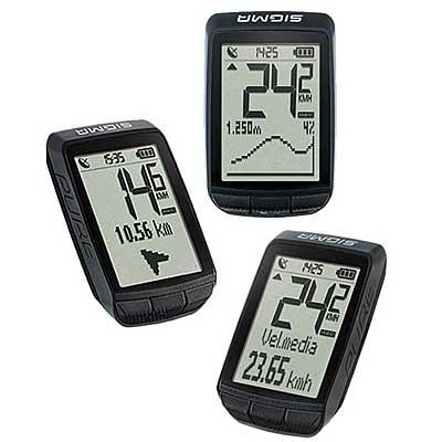 El cuentakilómetros Sigma Pure GPS tiene un diseño atractivo y vanguardista