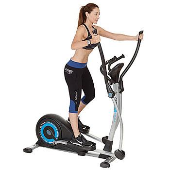 Las bicicletas elípticas son excelentes como máquinas de ejercicio para casa por su bajo impacto en las articulaciones