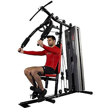 Las multiestaciones de musculación son máquinas de ejercicio para casa para trabajar la fuerza