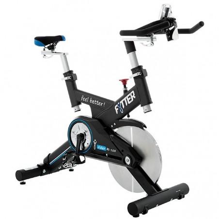 Bicicleta spinning semi-profesional volante 24kg RIDER RI-10X