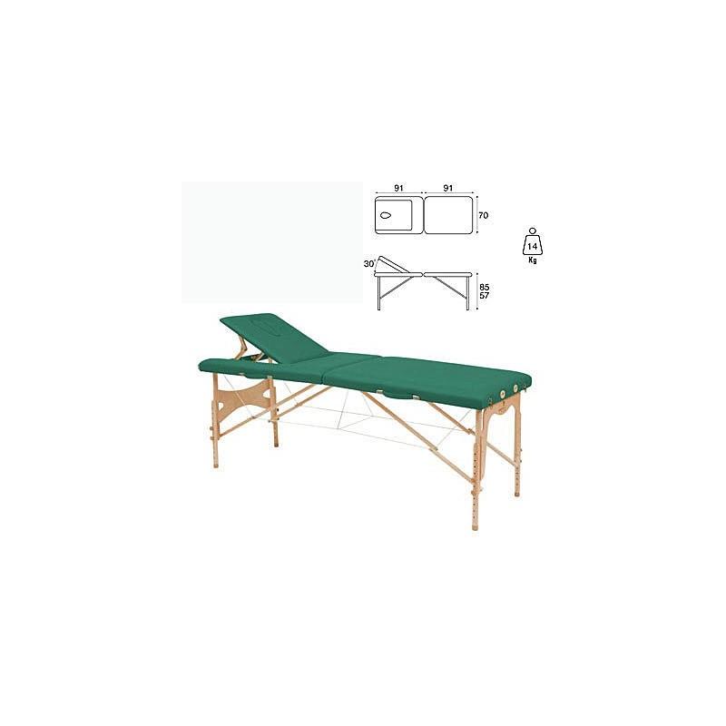 Camilla plegable madera Ecopostural C3209