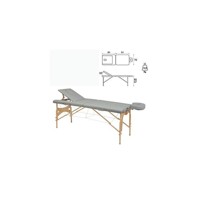 Camilla plegable madera Ecopostural C3210