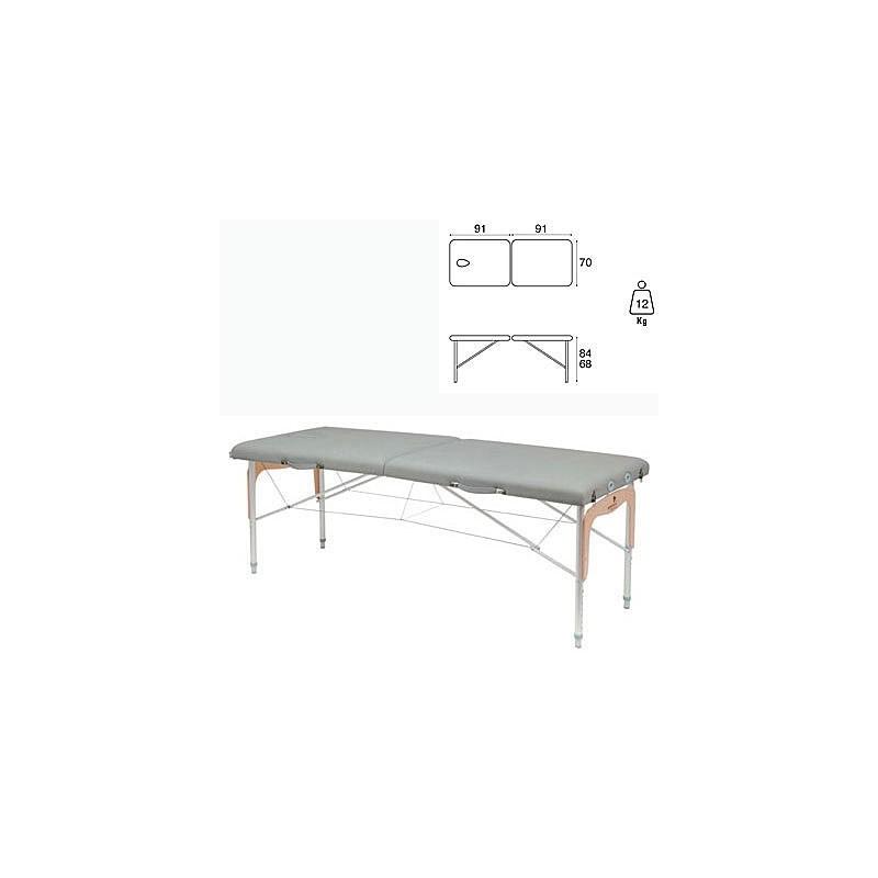 Camilla plegable mixta madera con aluminio Ecopostural C3311