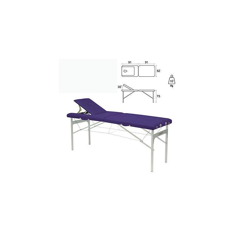 Camilla plegable aluminio masaje y terapia Ecopostural C3415