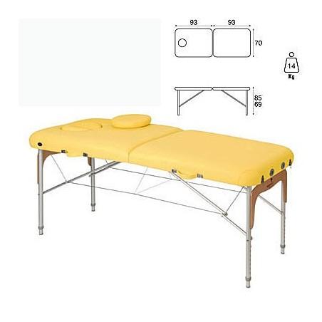 Camilla plegable aluminio masaje y terapia Ecopostural C3811M63