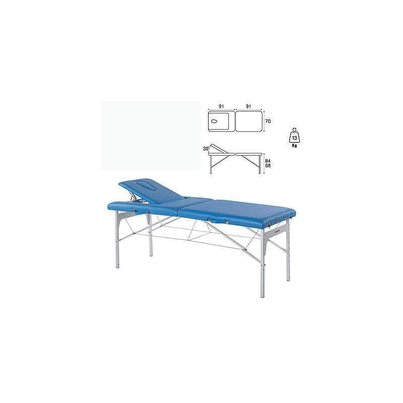 Camilla plegable aluminio masaje y terapia Ecopostural C3409