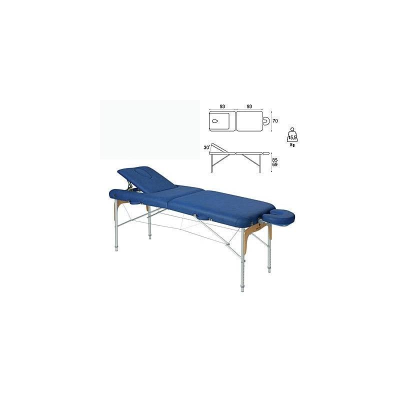 Camilla plegable aluminio masaje y terapia Ecopostural C3810