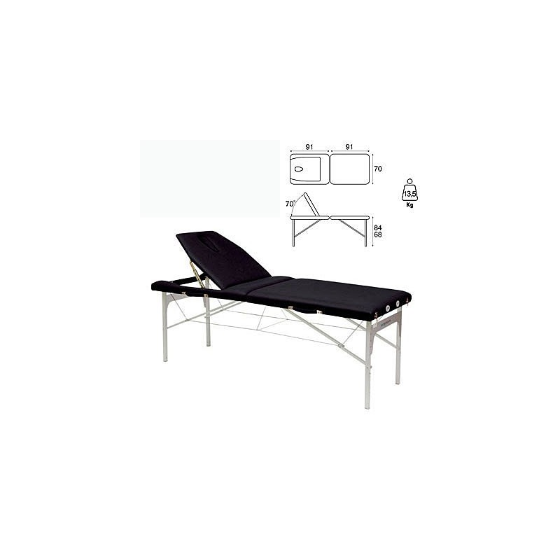 Camilla plegable aluminio masaje y terapia Ecopostural C3414