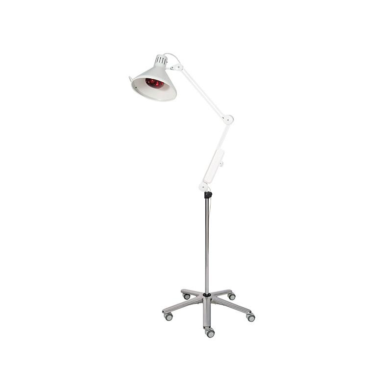 Lámpara de infrarrojos pintada