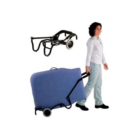 Carrito plegable con ruedas transporte Camilla plegable Ecopostural