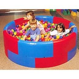 Piscina sensorial de educación infantil REDONDA Alto 52 cm